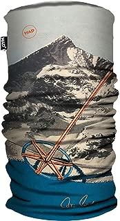 8000plus by Reinhold Messner Had Original size-8000plus Multi-Functional Scarf Fleece: Black One Size