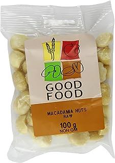 Mintons Good Food Voorverpakte Macadamia Noten Rauwe helften 100 g (Pack van 10)