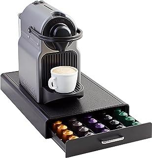 Amazon Basics Tiroir de Rangement pour Capsules Nespresso - Capacité 50 Capsules