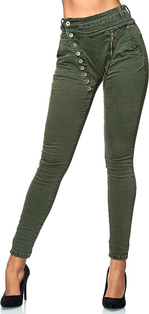 Elara jeans per donna 98% cotone 2% elastan C613K-15/F15G