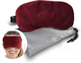 Plush Eye Mask | Ultra-Soft Moist Heat Microwave Activated - Reusable