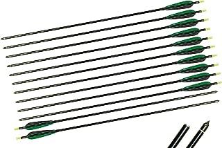 TTAD 12X Aluminum arrows 5 inch Turkey Feather 32