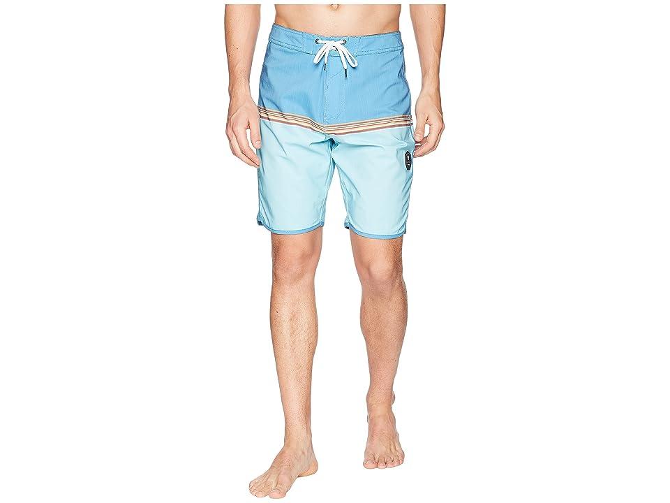 VISSLA Dredges Four-Way Stretch Boardshorts 20 (Blue Wash) Men