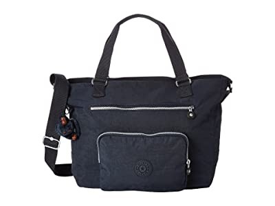 Kipling Maxwell Tote (Blue) Tote Handbags