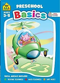 School Zone Preschool Basics 96-Page Workbook