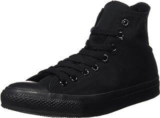 Converse Unisex Chuck Taylor Hi Basketball Shoe (4 D(M) US, Black Monochrome)