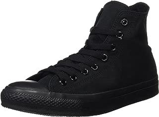 Converse Mens Chuck Taylor All Star High Top, 10.5 D(M) US, Black/Black