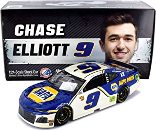 Lionel Racing Autographed Chase Elliott 2019 NAPA Diecast Car NASCAR 1:24 Scale Hand-Signed with Certificate of Authenticity