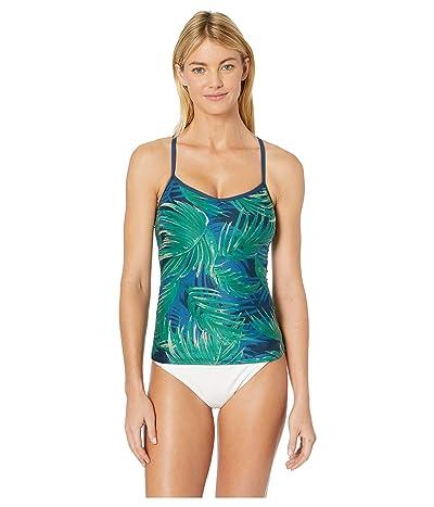 Carve Designs Stinson Tankini (Azul Palms) Women