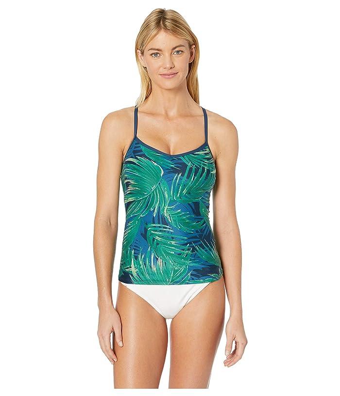 Carve Designs Catalina Tankini (Azul Palms) Women