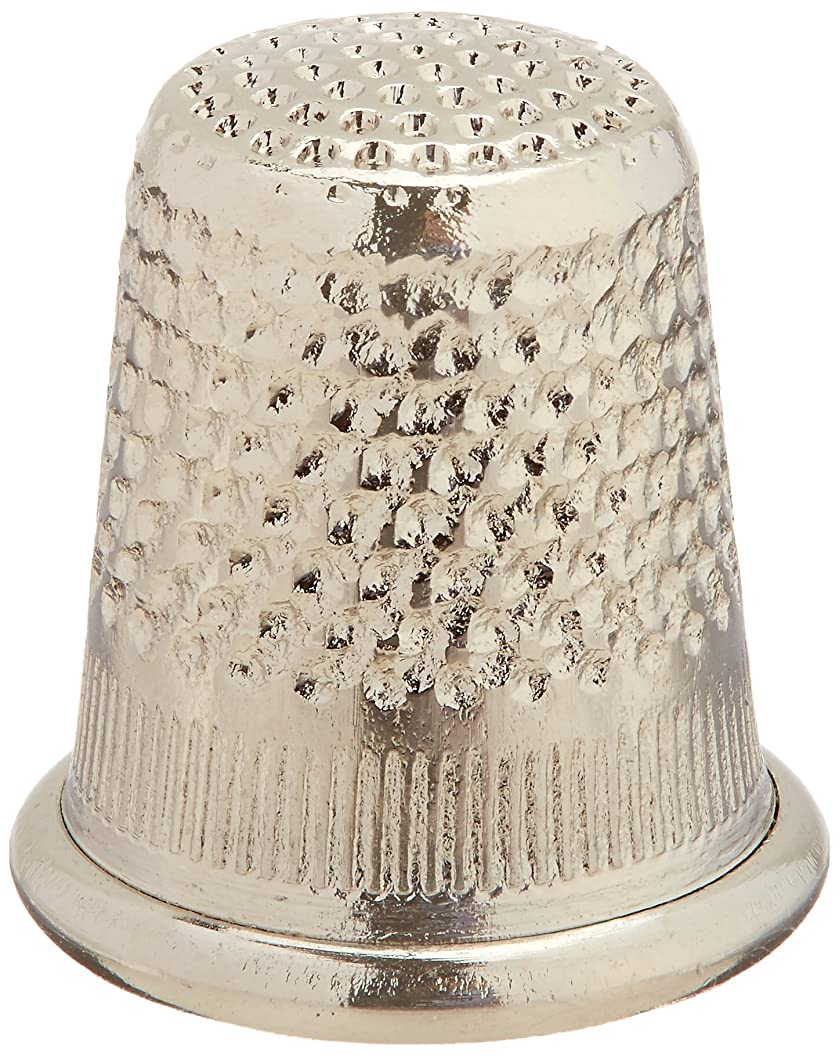 Colonial Needle Dome Top Thimble, Small, Nickel yokljrrwhrm11