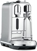 Breville Nespresso Creatista Plus Coffee Machine, Brushed Stainless Steel, BNE800BSS