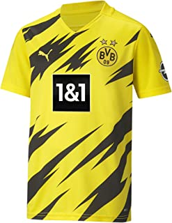 PUMA Unisex BVB Home Trikot Replica 20/21_ T-Shirt