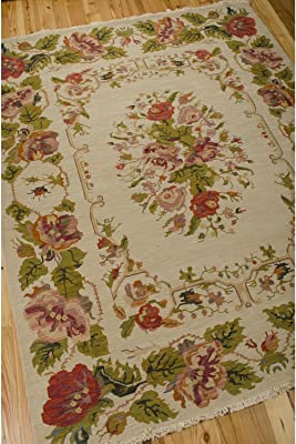 """Nourison Nourmak Encore Beige Rectangle Area Rug, 8-Feet 6-Inches by 11-Feet 6-Inches (8'6"""" x 11'6"""")"""