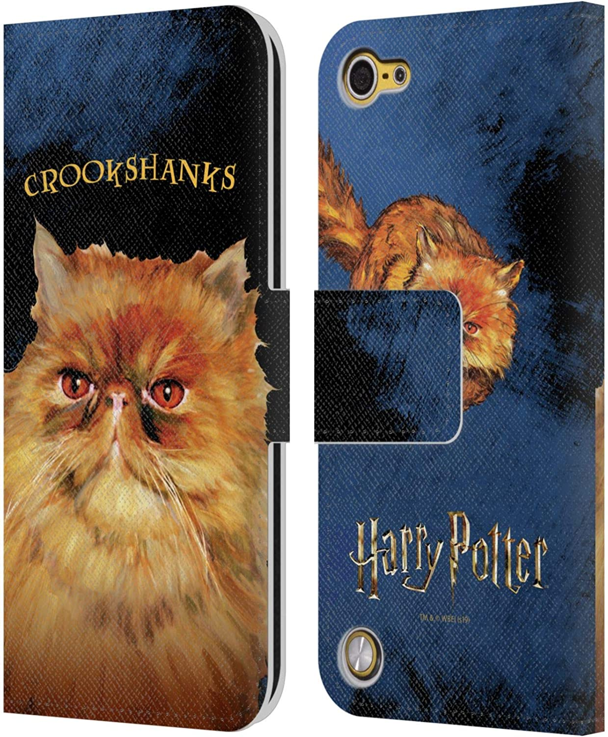 Official Harry Potter The Marauders Map Prisoner Of Azkaban II Leather Book Wallet Case Cover Compatible For Apple iPod Touch 5G 5th Gen