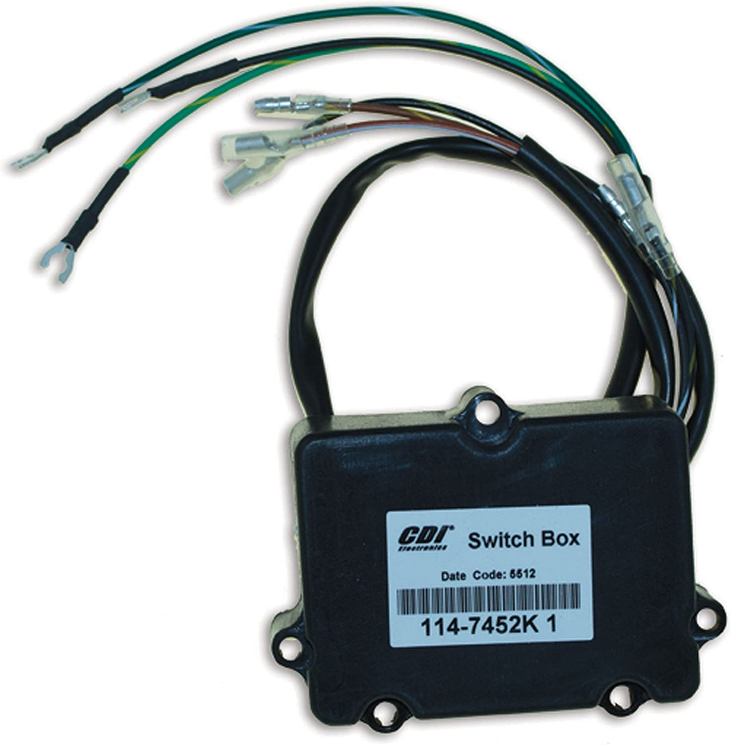 CDI Electronics 114-7452K 1 Mercury Recommended Mariner Pack Cy - Ignition 2 Max 66% OFF