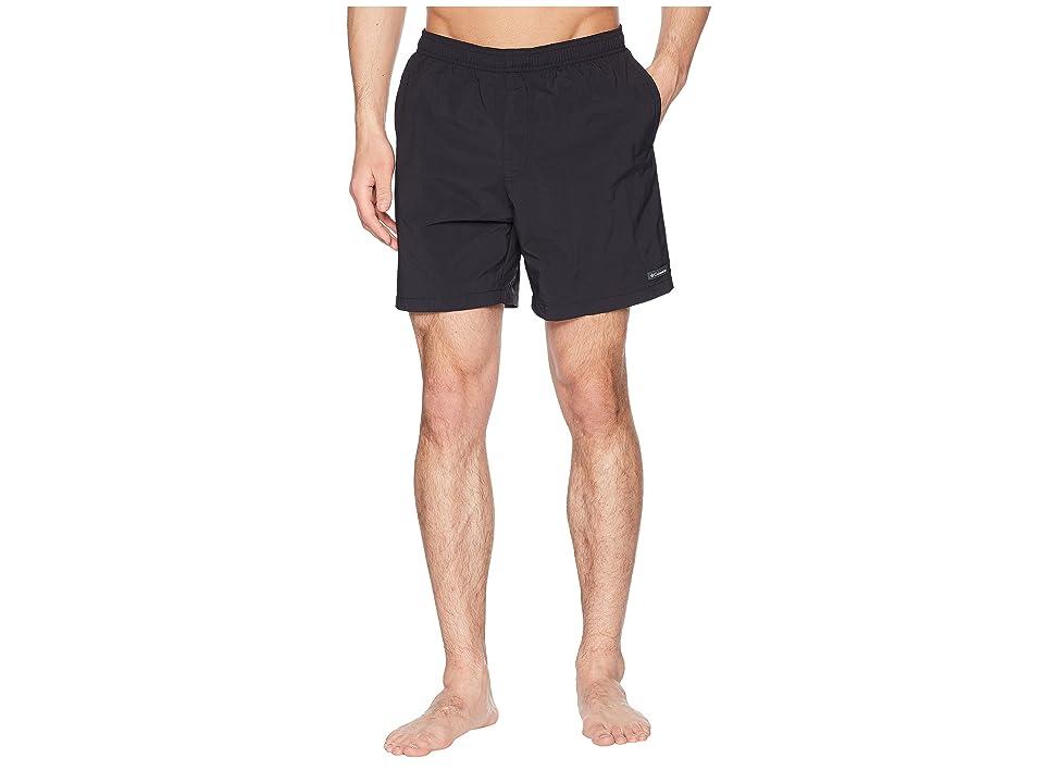 Columbia Roatan Drifter Water Shorts (Black/Black Print) Men