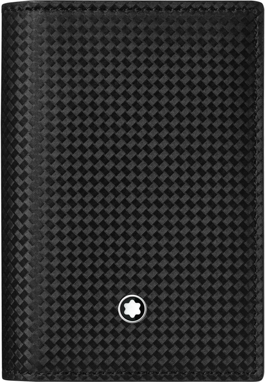 Montblanc Men's Credit Card Case, Black, 10cm/3.94