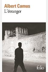 L'étranger Format Kindle