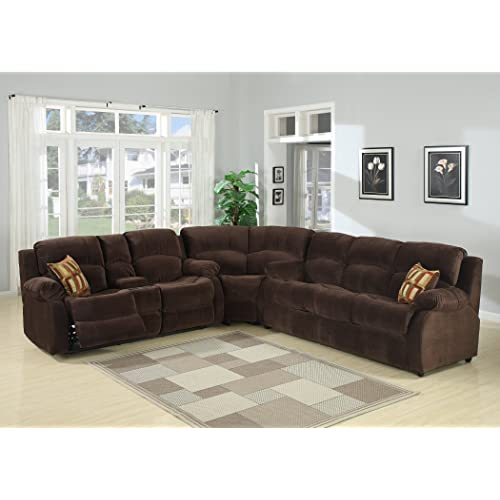 Sectional Sofa with Recliners: Amazon.com