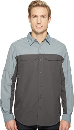 Columbia Silver Ridge Blocked Long Sleeve Shirt