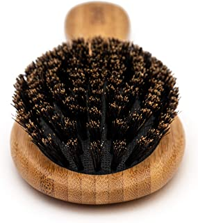 Cepillo de pelo de cerdas de jabalí- Diseñado para niños, mujeres y hombres. Los cepillos de cerdas naturales funcionan mejor para cabello fino y fino