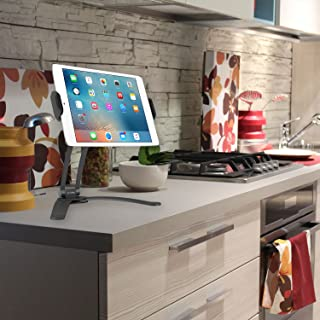 Cellet Kitchen Tablet Mount Stand Cellet 2-in-1 Kitchen Wall/Counter Top Desktop Mount recipe Holder Stand For 7 to 13 Inch Tablet fits 2017 iPad Pro 12.9/9.7/Air/Mini, Surface Pro