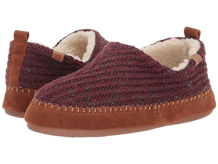 Acorn  Camden Recycled Slipper (Garnet) Womens Slippers