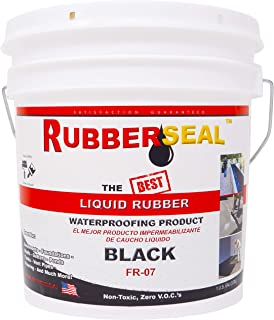 Rubberseal Liquid Rubber Waterproofing and Protective Coating - Roll On (1 Gallons)