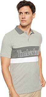 Timberland Men's Ss Millers River Colour Block Pique Polo