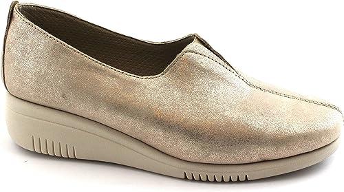 Grünland SIRA SC3763 Platin Gold Gold Gold beige Schuhe Frau elastische zeppetta  Professionelles integriertes Online-Einkaufszentrum