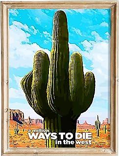 FANART369 Een miljoen manieren om te sterven in het Westen #3 poster A3 formaat fanart Film poster muur kunst print decor ...