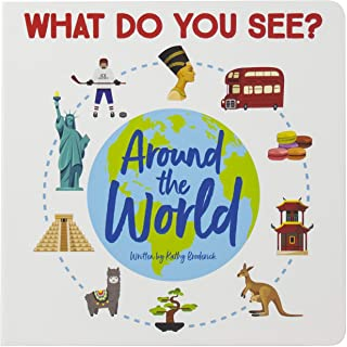 What do You See Around the World, a Look and Find Book - PI Kids