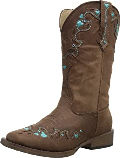 Best teal cowgirl boots sale Reviews