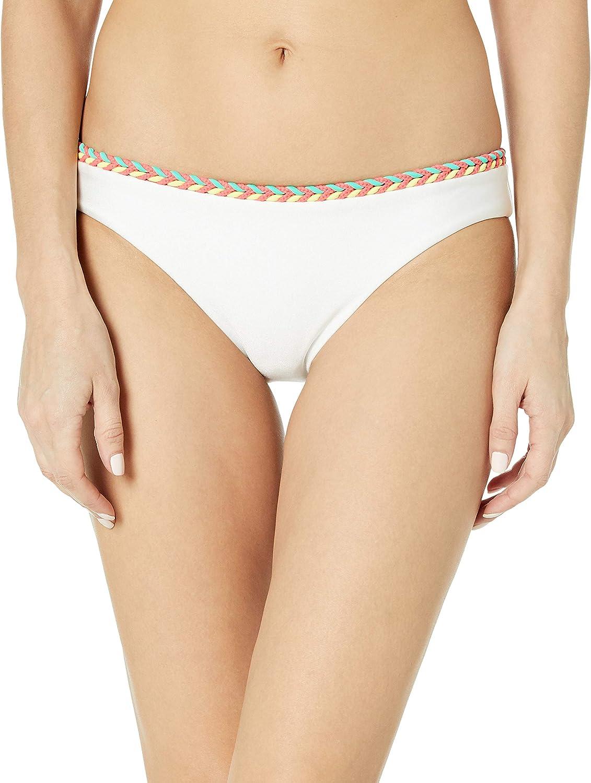 Luli Fama Women's Standard Atrevida Multicolor Crochet Full Bikini Bottom