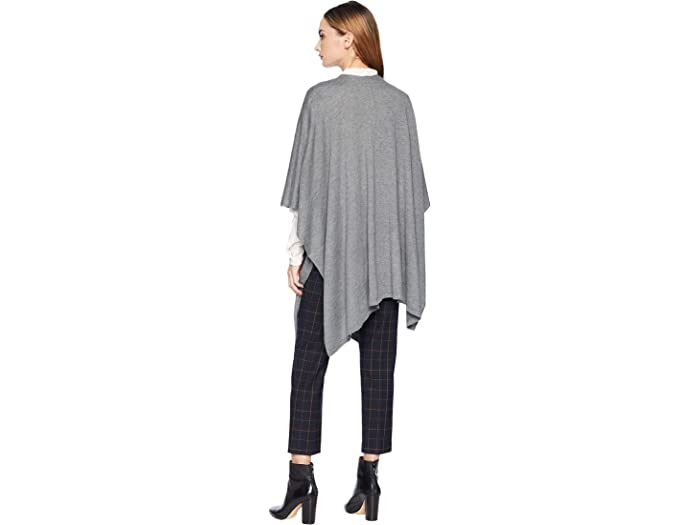 Echo New York Core Everyday Ruana Charcoal Sweers