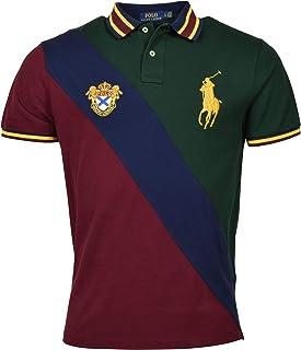 Men's Custom-Fit Crest Logo Big Pony Polo Shirt