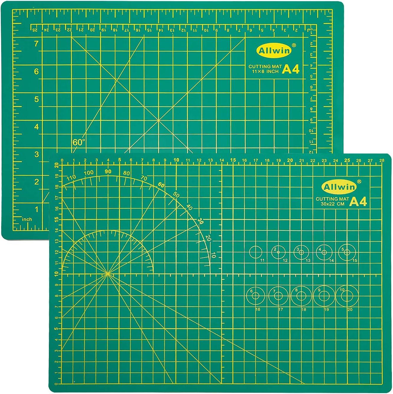 Koopro Professional A4 Green Max 57% OFF Warp-Proof Self-Healing Max 70% OFF Cutting Mat