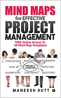 Mind Maps for Effective Project Management: Free Online Access to 40 Mind Map Templates