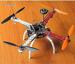 Drohneks DIY F450 Quadcopter Kit + APM2.8 FC + 7M GPS y Soporte GPS + T2212 920KV Motor sin escobillas + Simonk 30A ESC + Tren de Aterrizaje + 1045Hélice + Paquete de repuestos