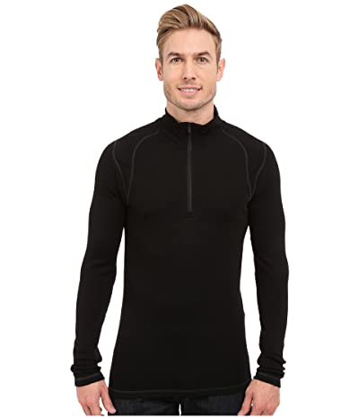 Smartwool NTS Mid 250 Zip T Top (Black) Men