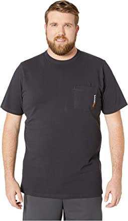 Big & Tall Base Plate Blended Short Sleeve T-Shirt