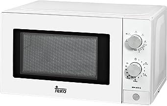 Teka - Microondas Mw200G, 20L, 1050W/700W, Congrill, Mecánico, Descongel.Por Tiempo, Blanco