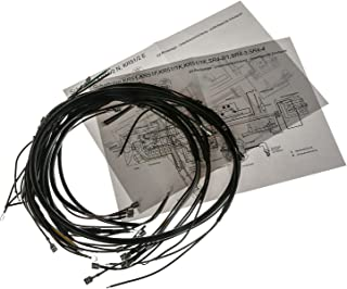AKA Electric Kabelbaumset, Basisausstattung mit Schaltplan   für Simson KR51 Schwalbe, SR4 2 Star, SR4 3 Sperber, SR4 4 Habicht