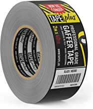 Gaffers Tape – 2 Inch by 40 Yards in Black – Get 33% More! High End..