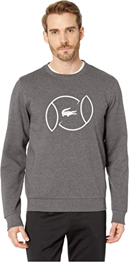 Sport Animation Fleece Sweatshirt w/ Tennis Ball Graphic