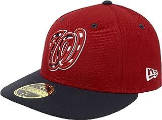 New Era 59Fifty Hat MLB Washington Nationals Low Profile Alternate Baseball Cap