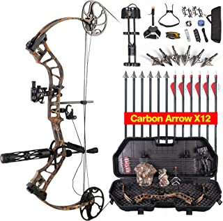 TOPOINT ARCHERY Daibow MOMENTOUS Compound Bow Hard Bow Case Package,CNC Milling Bow Riser,USA Gordon Composites Limb,BCY String,19