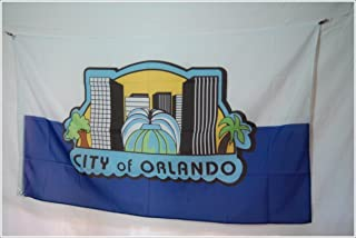 Apedes Orlando City Garage Hangar Basement Flag 3x5 Feet