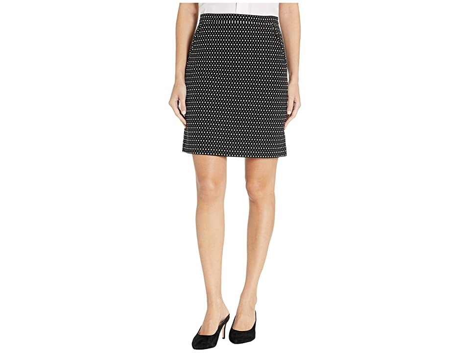 Anne Klein Pocket Skirt (Anne Black/Anne White) Women